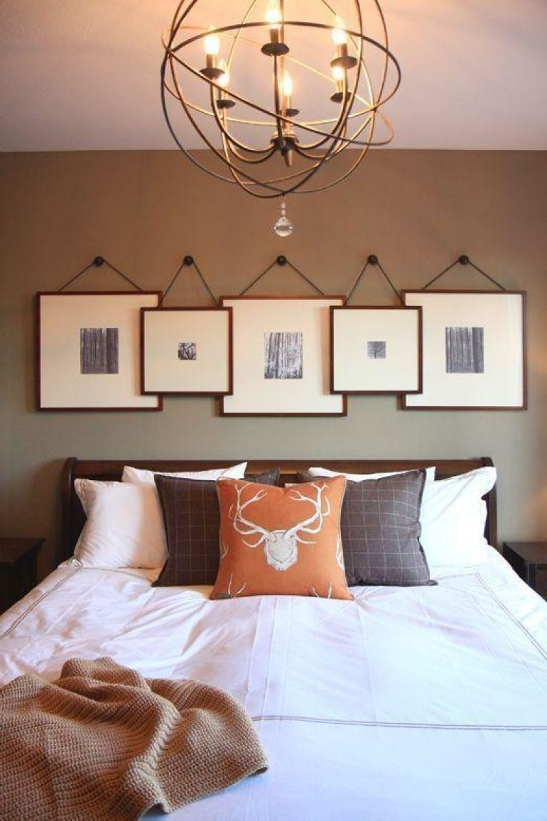 Transform Your Favorite Spot With These 20 Stunning Bedroom Wall With Regard To Famous Wall Accents Behind Bed (View 10 of 15)