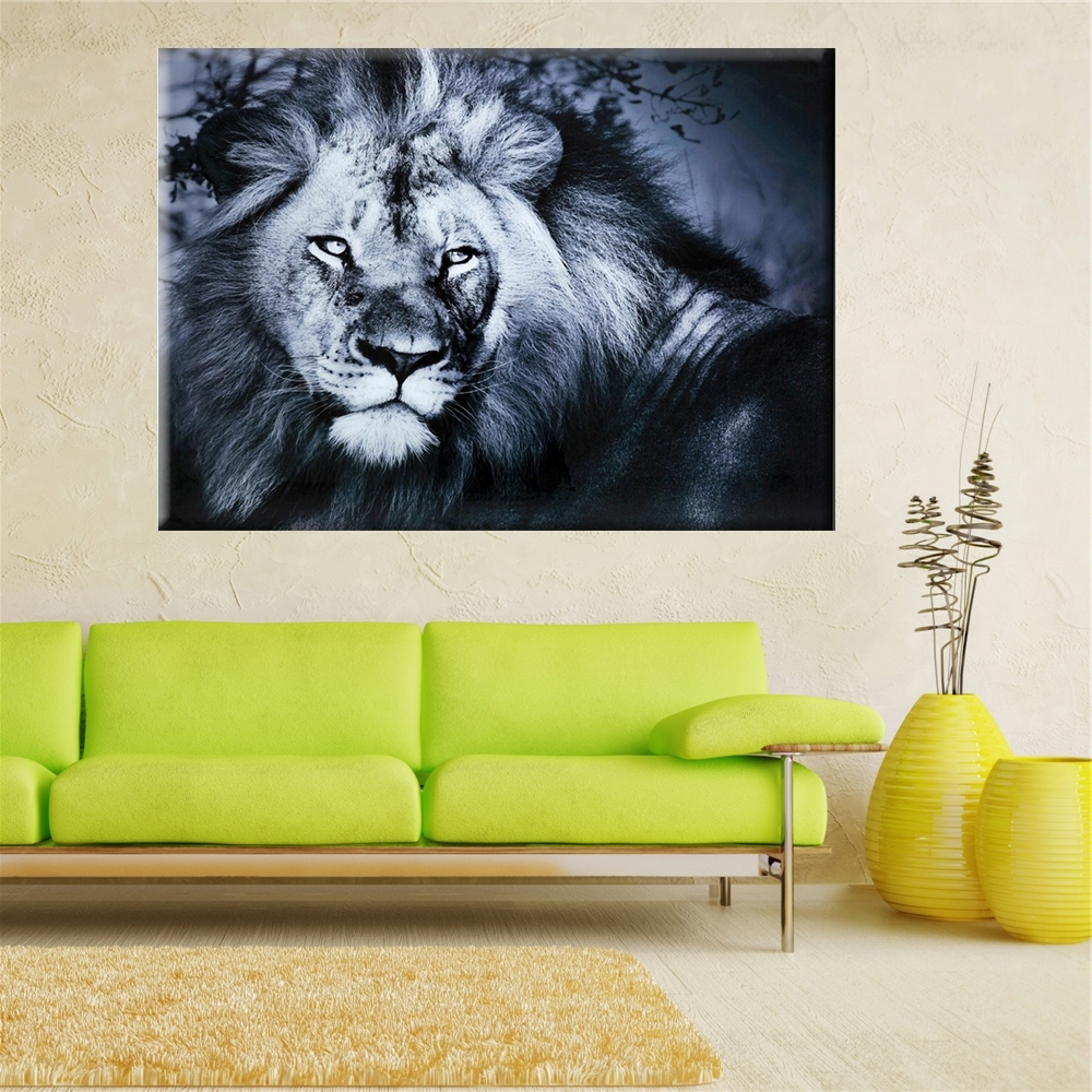 Trendy 2017 Lion King Wall Art Oil Painting On Canvas Wall Pictures For Throughout Lion King Canvas Wall Art (View 14 of 15)