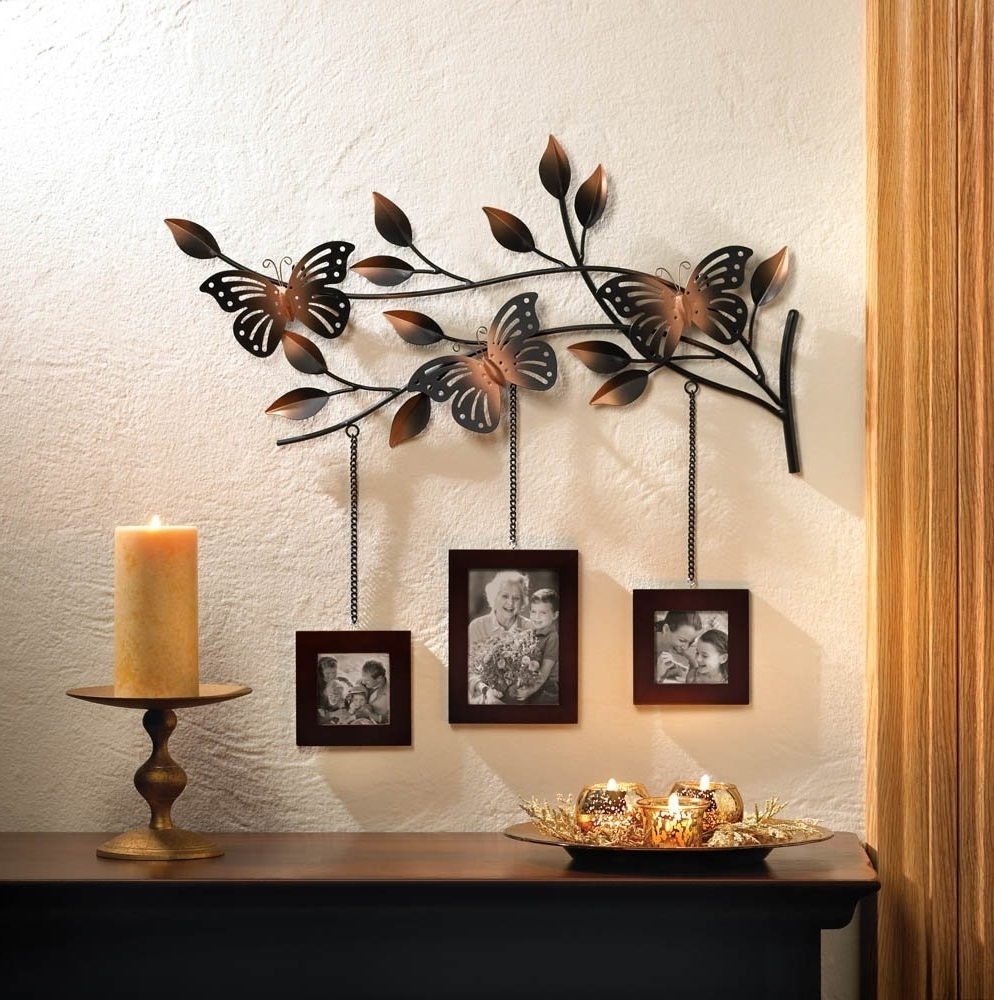 Trendy Butterfly Home Decor – Mforum Inside Amazon Wall Accents (Gallery 3 of 15)