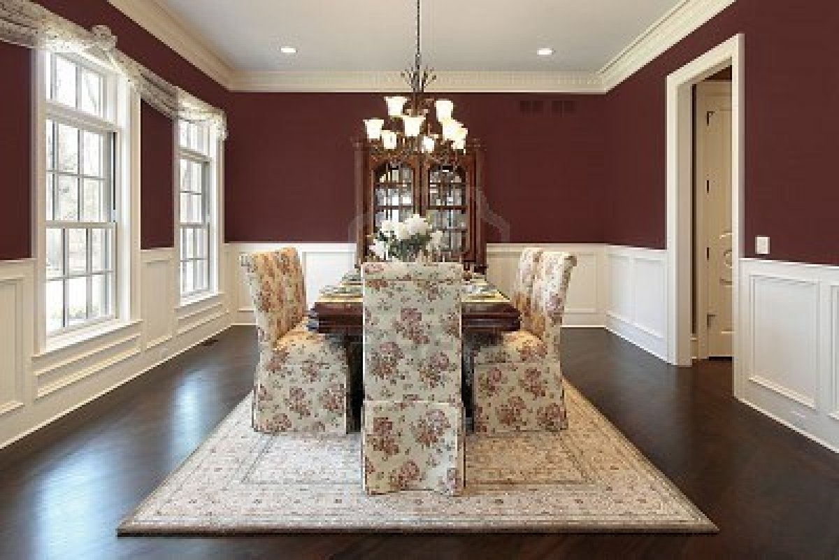 Trendy Decorating Design Ideas Elegant Dining Room Dining Room Decor New Pertaining To Wall Accents For Dining Room (View 13 of 15)