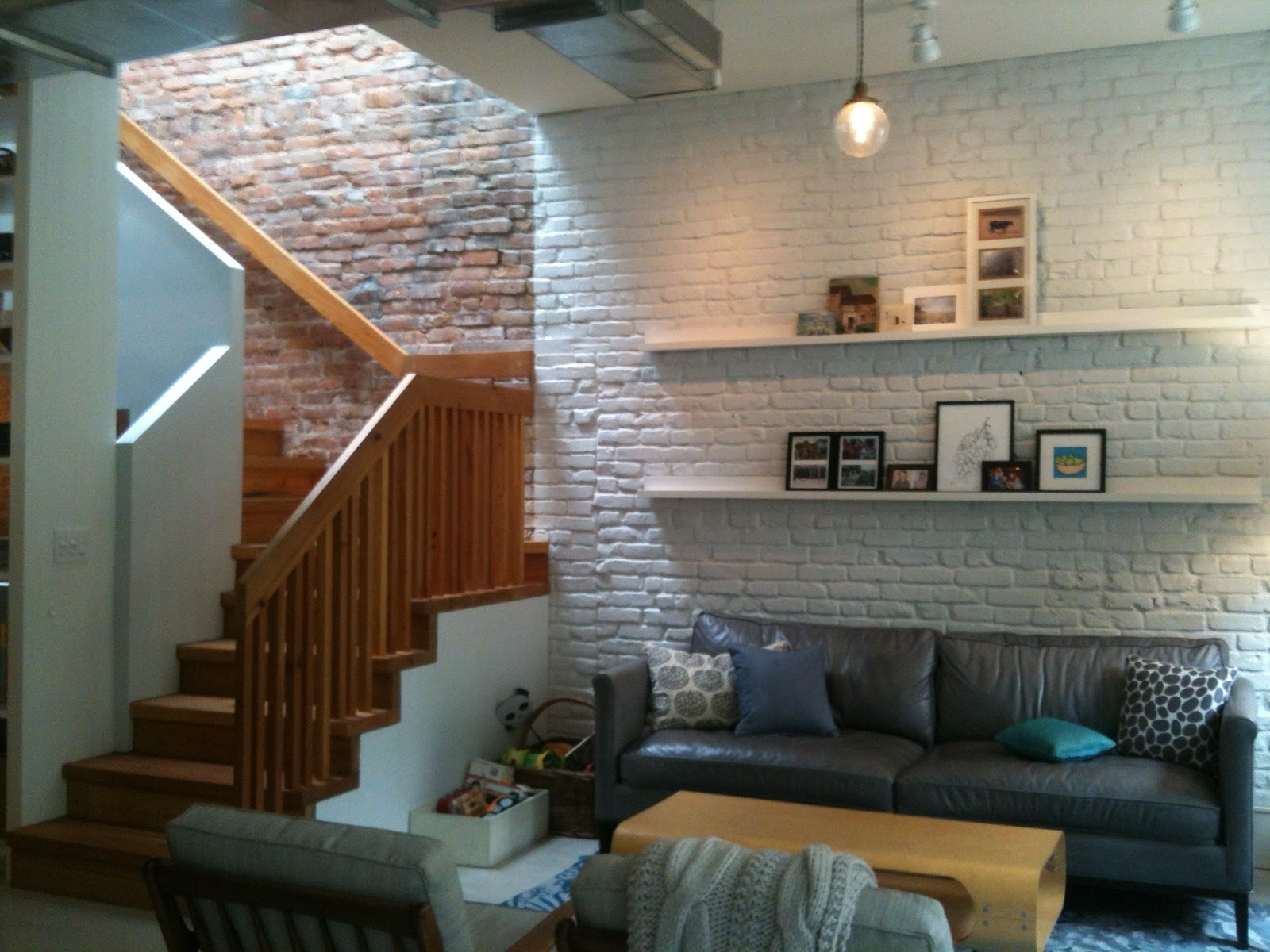 Trendy Exposed Brick Wall Accents With Fantastic Artwork Wall Decor Collection Hang On White Polished (Gallery 8 of 15)
