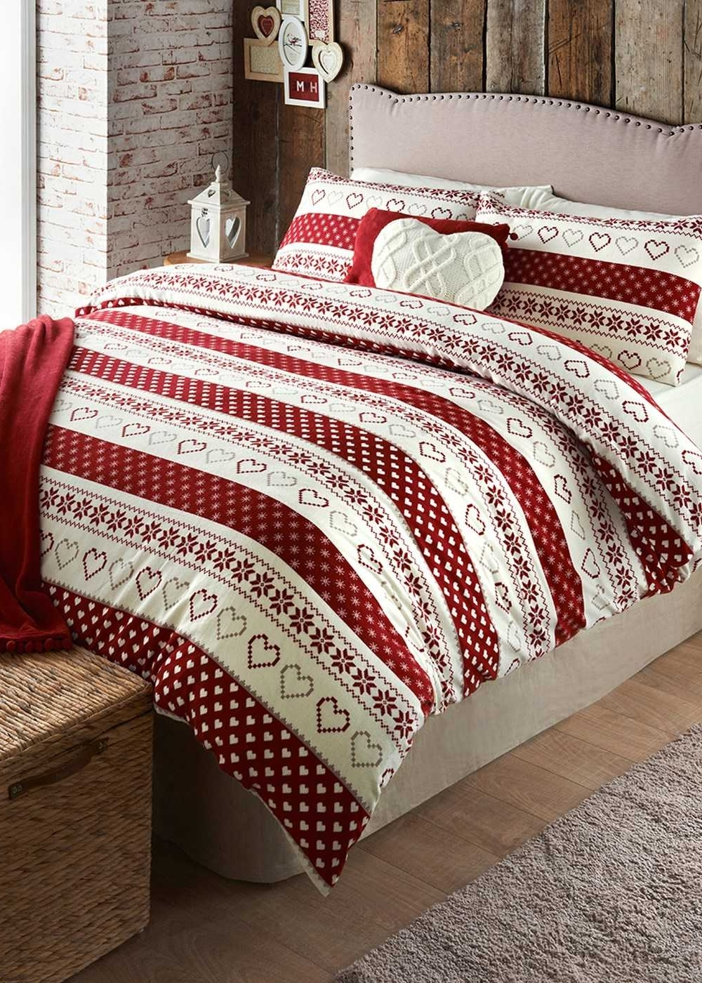Trendy Matalan Duvet Sets – Cotton Geometric Printed Duvet Cover ( Thread Throughout Matalan Canvas Wall Art (View 15 of 15)