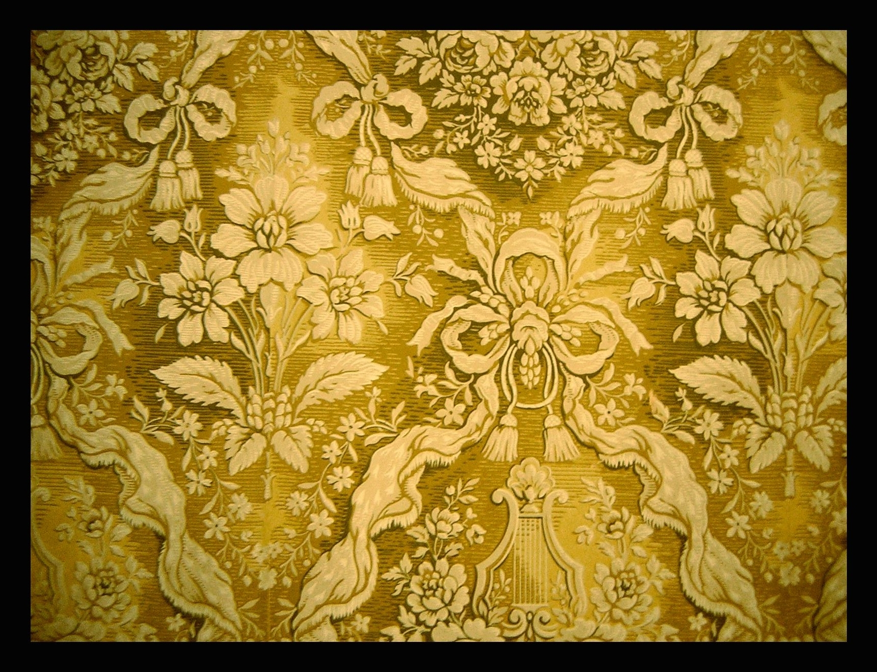 Trendy Palace Wall Texture #gold #ornate #fabric #textured (View 10 of 15)