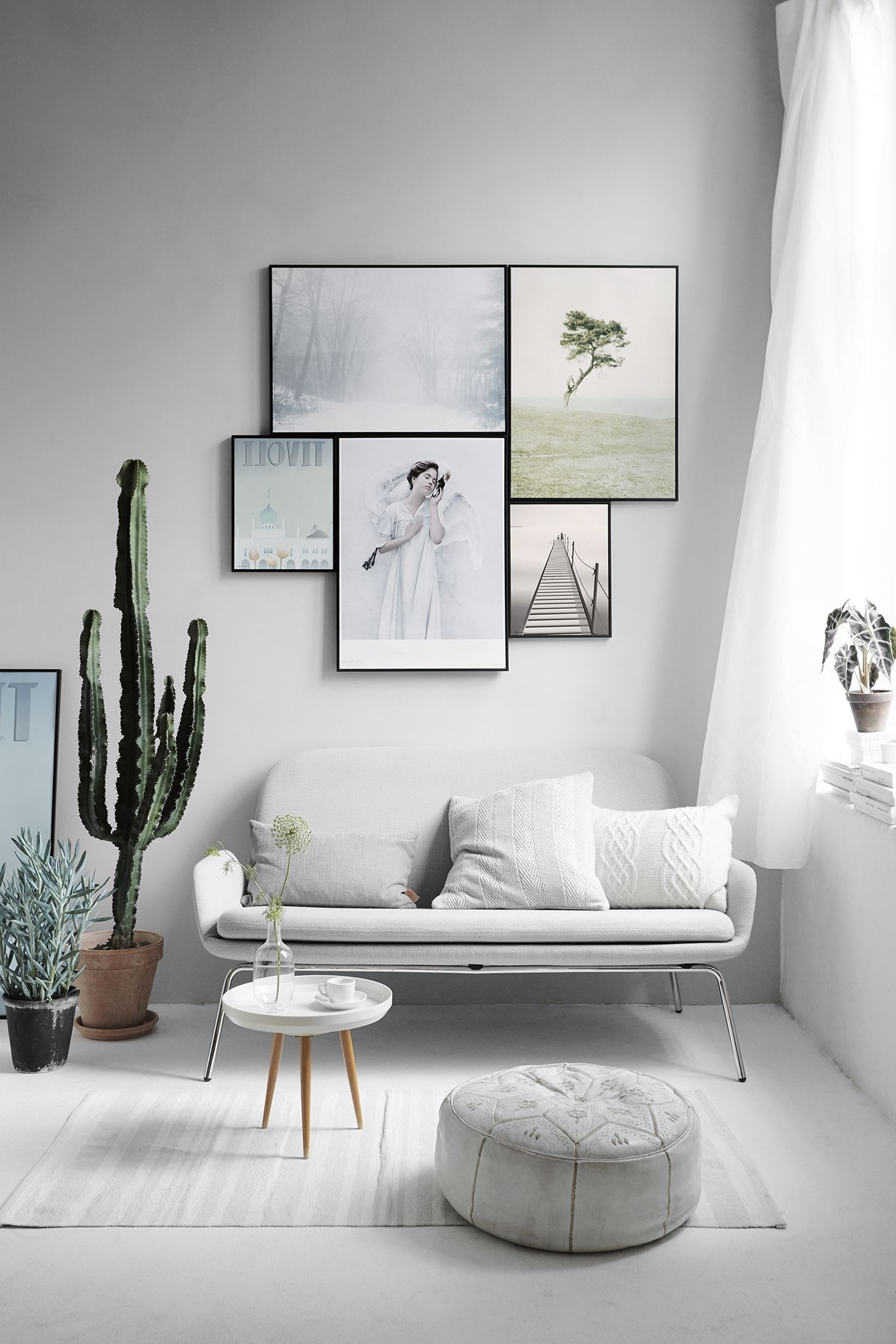 Trendy Scandinavian Fabric Wall Art In 10 Scandinavian Style Interiors Ideas (View 12 of 15)