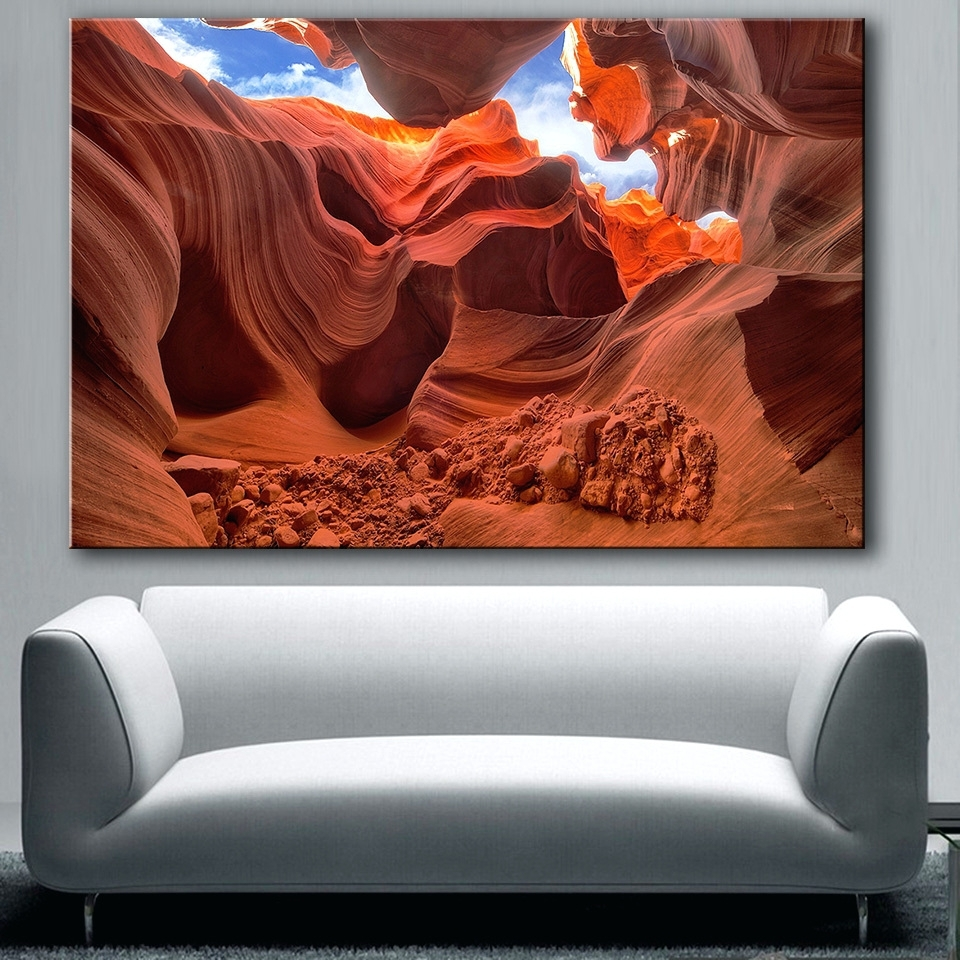Trendy Wall Arts: Grand Canyon Wall Art. Grand Canyon Wall Art. In Arizona Canvas Wall Art Arizona (Gallery 9 of 15)
