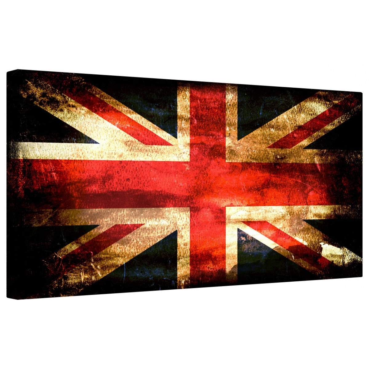Union Jack Canvas Wall Art With Most Recent Canvart (View 10 of 15)