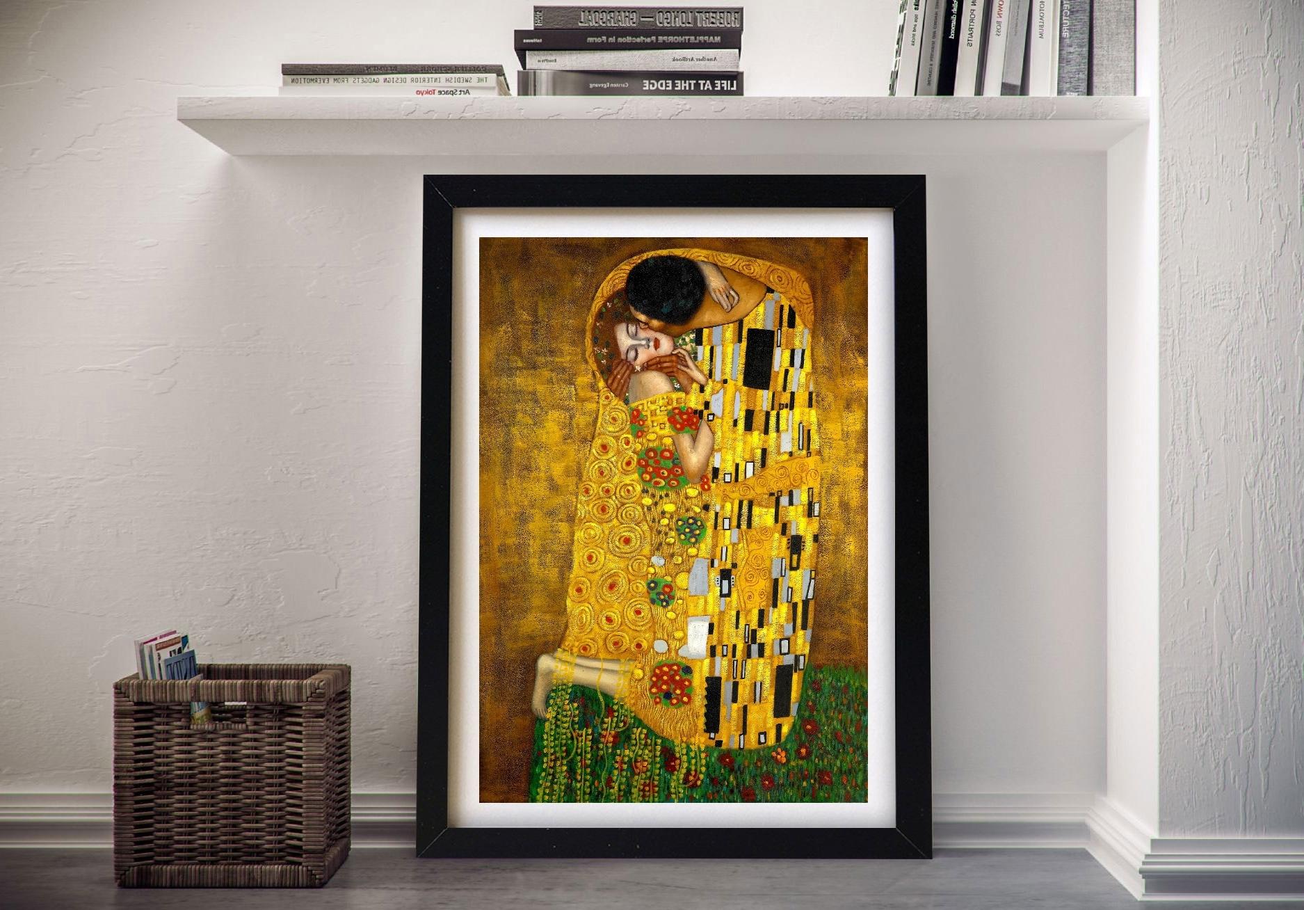 Van Gogh, Monet, Renoir, Klimt Canvas Wall (View 15 of 15)