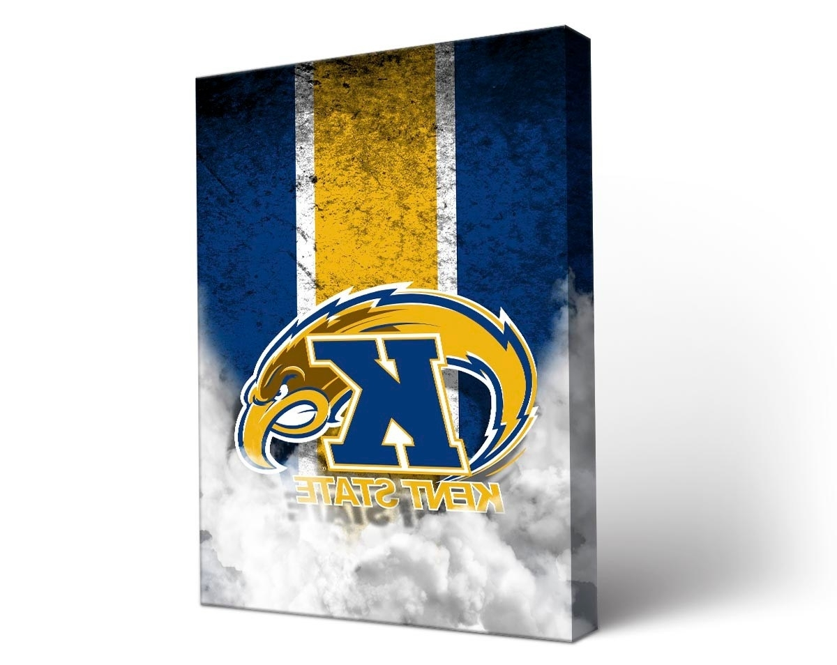 Victory Tailgate – Kent State Golden Flashes Canvas Wall Art Inside Well Known Kent Canvas Wall Art (View 11 of 15)