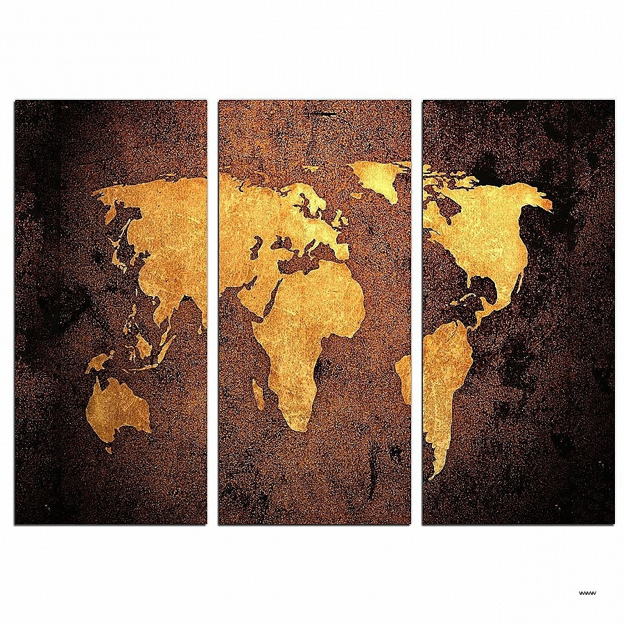 Vintage Wall Art Canvases Fresh Vintage World Map Canvas Wall Art For Popular Maps Canvas Wall Art (View 12 of 15)