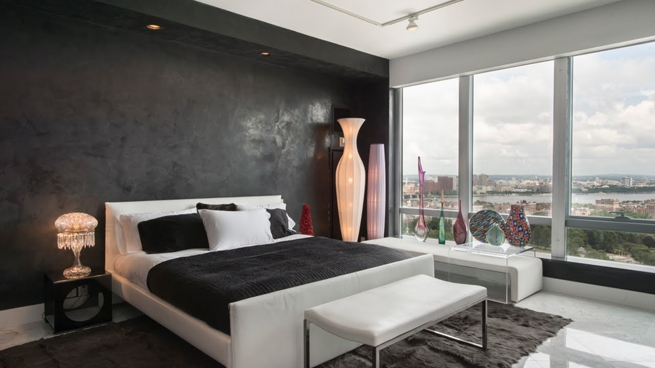 Wall Accents For Bedroom Throughout Most Up To Date Pretentious Black Accent Wall Ideas 20 Beautiful Living Room (View 11 of 15)