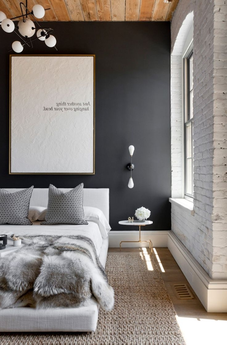 Wall Accents For Grey Room In Favorite Bedroom Design: Grey Accent Wall Living Room Wall Decor Ideas Wall (View 8 of 15)
