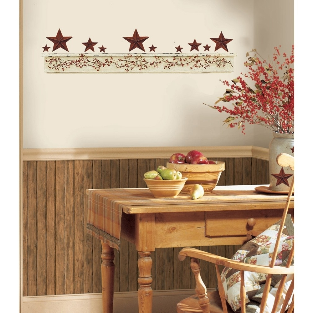 Wall Accents For Kitchen With Regard To Most Popular Kitchen : Kitchen Country Wall Decor French Country Kitchen Wall (View 11 of 15)