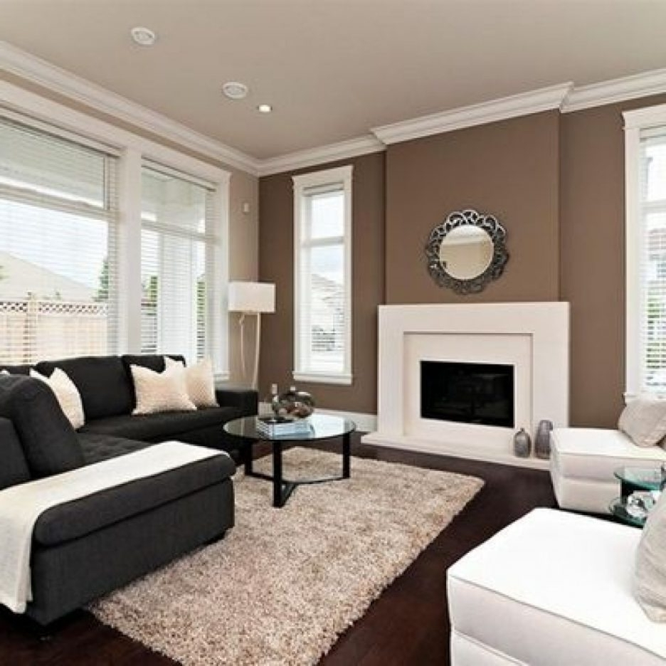 brown accent wall in living room 15 the best wall accents for room 24309