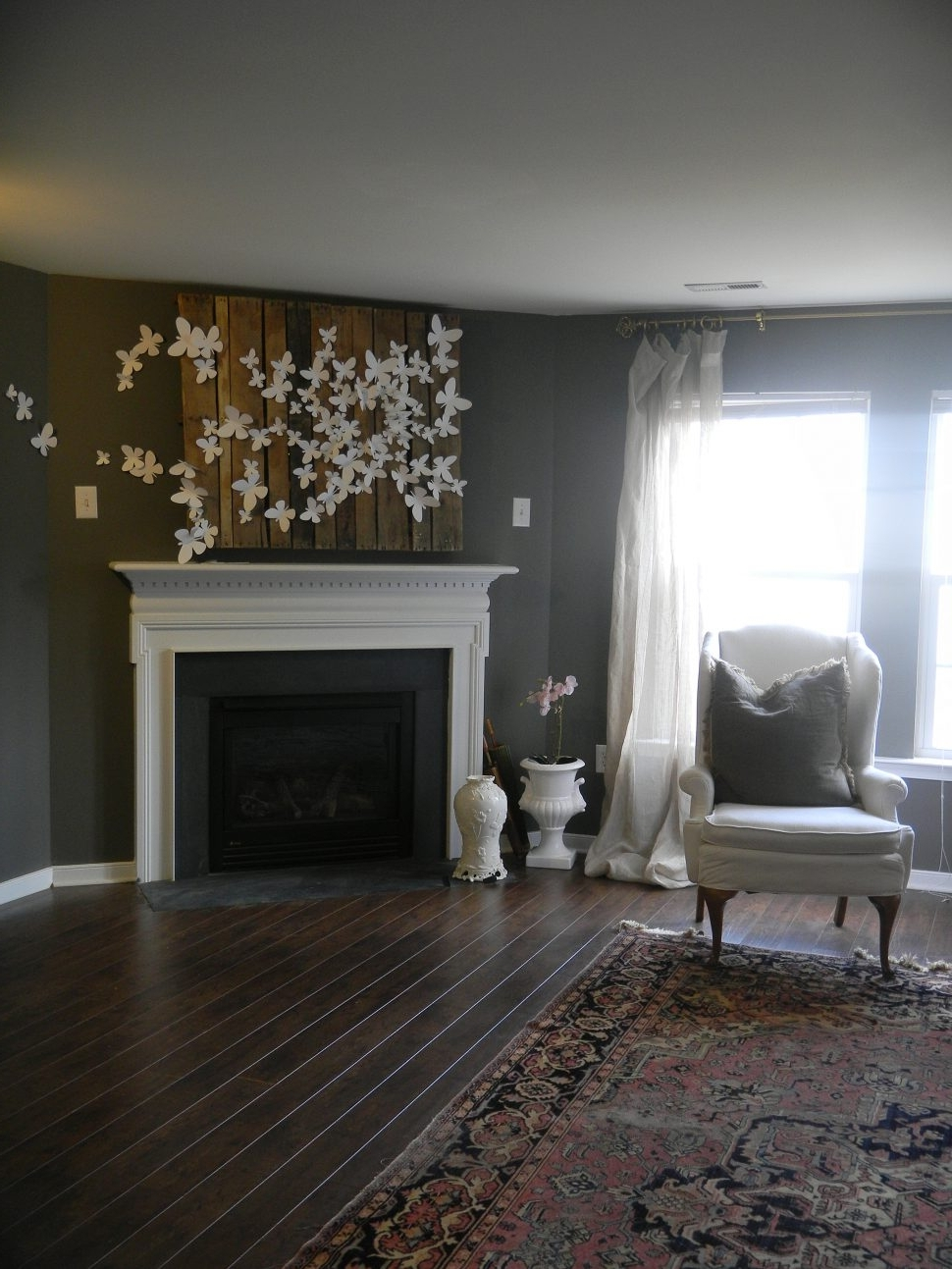 Wall Accents Over Fireplace With Recent Wall Decor : Cheap Wall Decor Fireplace Mantel Decorating Ideas (View 2 of 15)