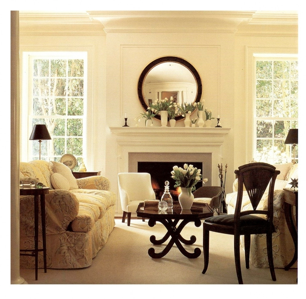 Wall Accents Over Fireplace With Well Liked 15 Mirrors Over Fireplace Ideas Compilation – Page 2 Of (View 7 of 15)