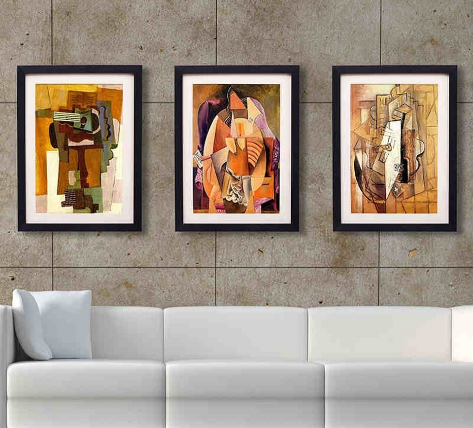 contemporary wall art for living room 15 ideas of contemporary framed prints 25986
