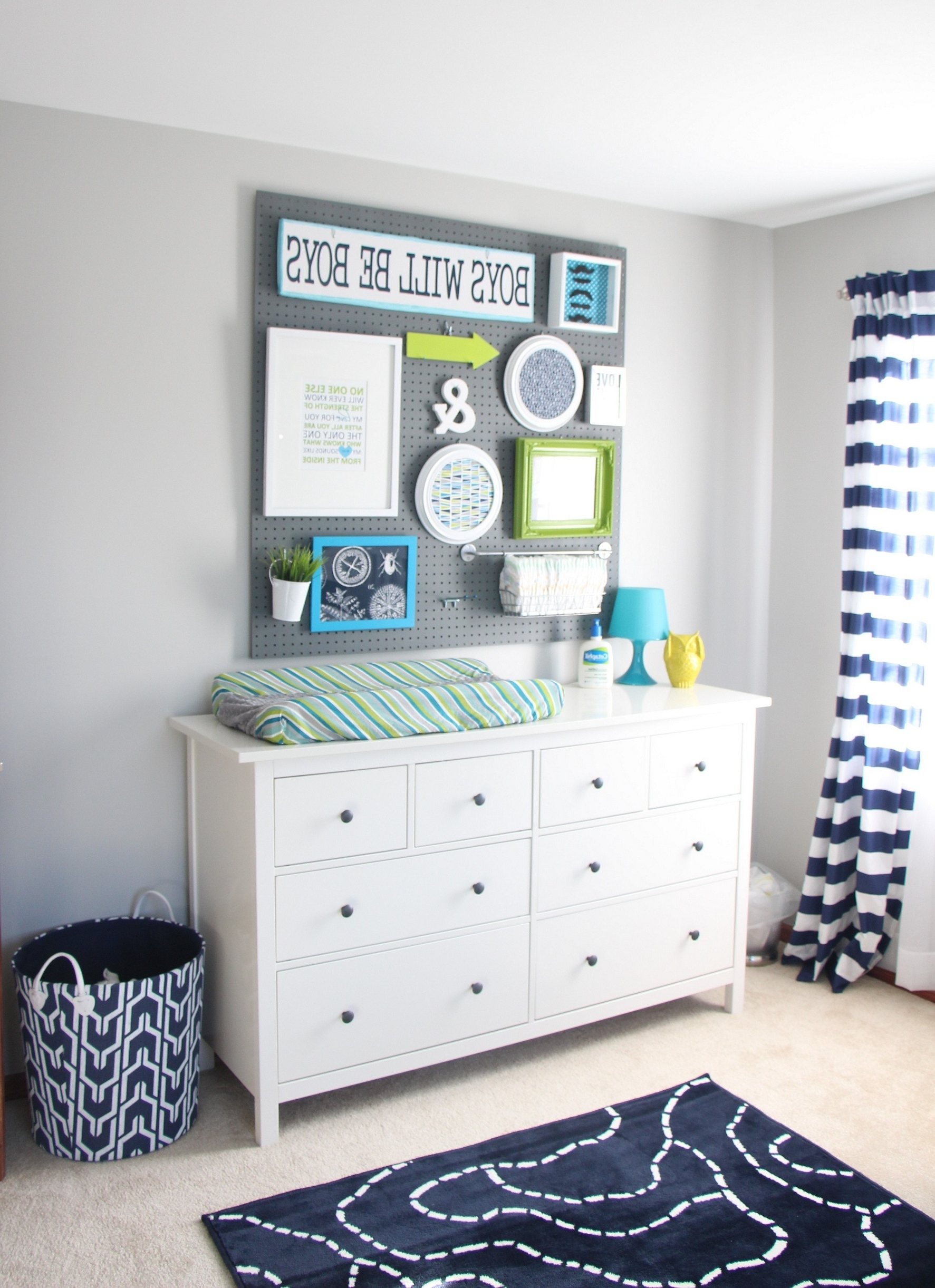 Wall Art Designs: Fabric Wall Art Baby Nursery Navy Nursery With Preferred Round Fabric Wall Art (View 14 of 15)