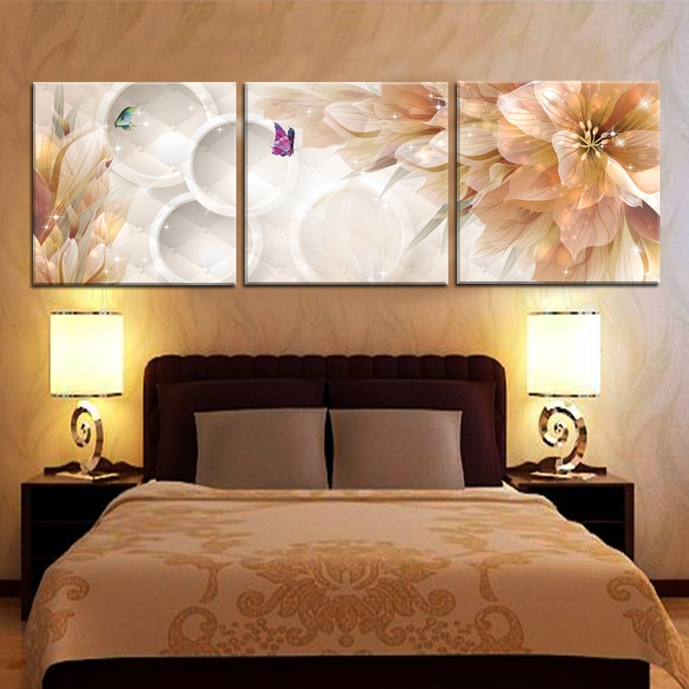 Wall Art Fabric Prints Regarding Popular Furniture: Print Wall Art Home Decor For Room Decorations Wall Art (View 12 of 15)
