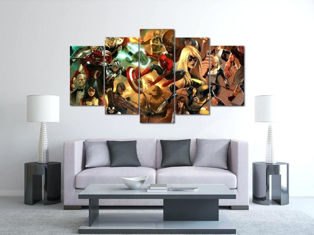 Wall Arts ~ 2 Panel Canvas Wall Art The Heroic Age Avengers Canvas Throughout 2017 Canvas Wall Art Of Philippines (View 2 of 15)