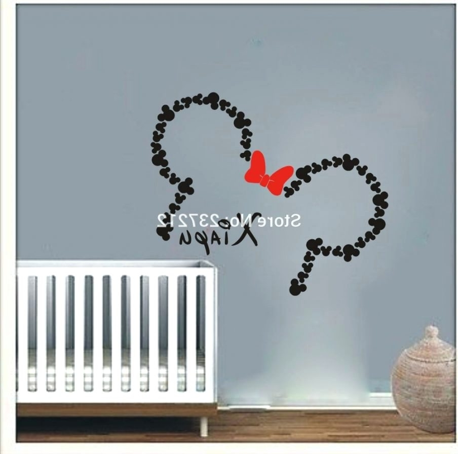 Wall Arts ~ Awesome Mickey Mouse Wall Art Ideas Baby Minnie Mouse Pertaining To Famous Mickey Mouse Canvas Wall Art (View 11 of 15)
