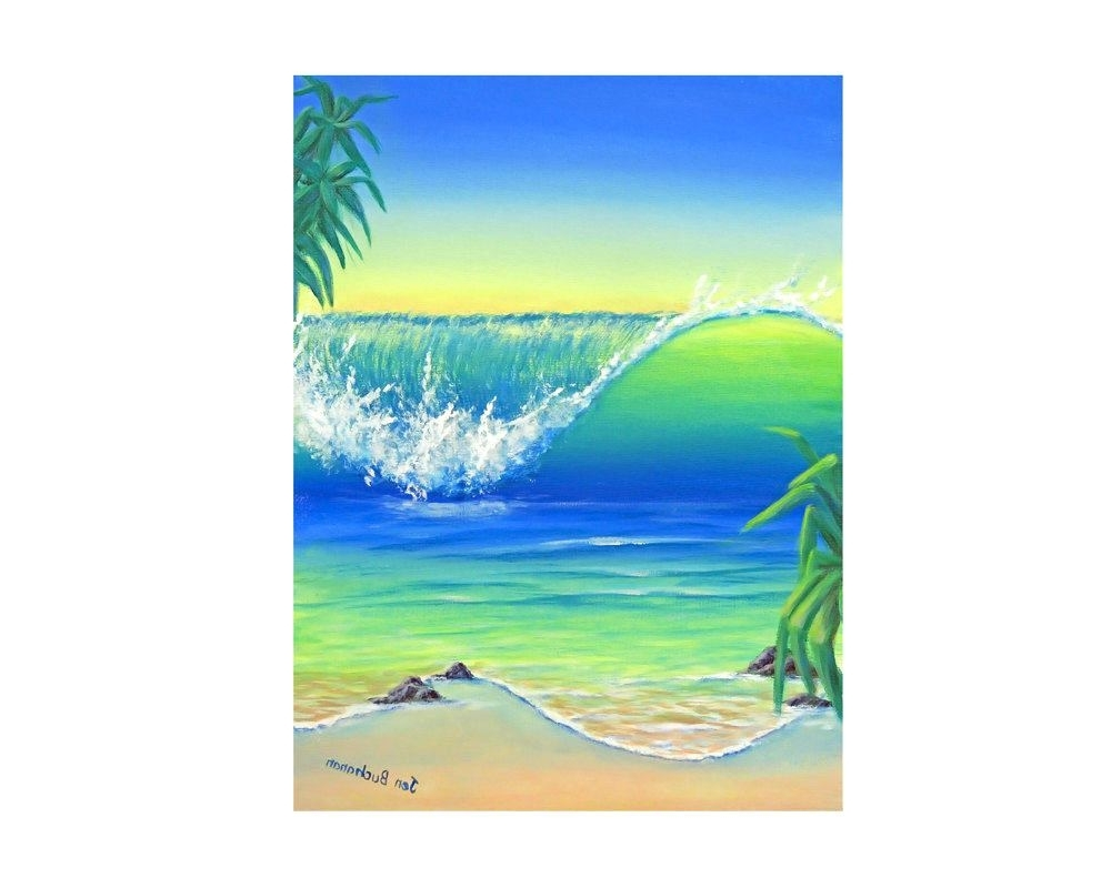 Wall Arts ~ Beach Scene Wall Art Canvas Beach Themed Canvas Prints With Most Recent Canvas Wall Art Beach Scenes (View 12 of 15)