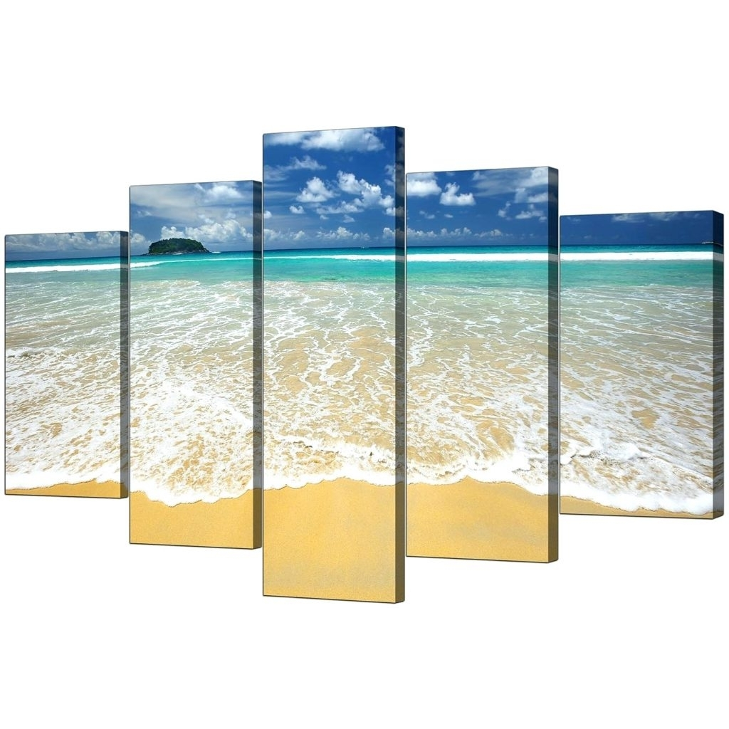 Wall Arts ~ Beach Scene Wall Art Canvas Beach Themed Canvas Wall With Regard To Well Known Beach Themed Canvas Wall Art (View 13 of 15)