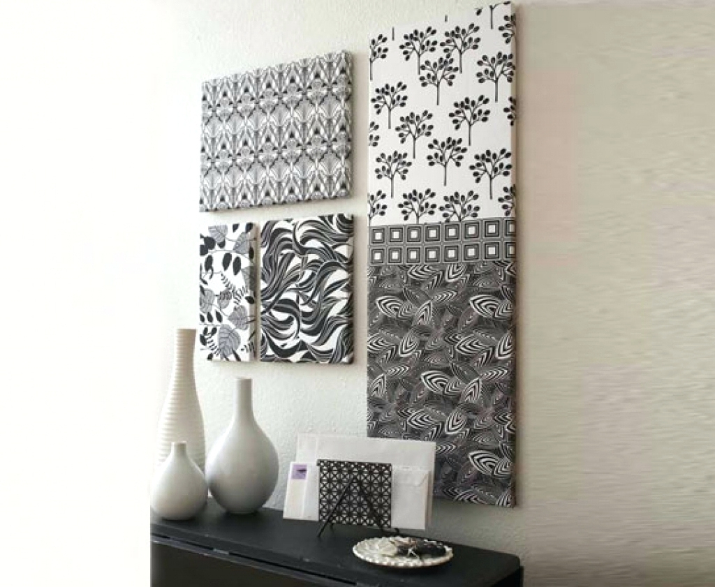 Wall Arts ~ Diy Fabric Cross Wall Art Best Fabric For Wall Art For Most Up To Date Diy Fabric Cross Wall Art (View 13 of 15)