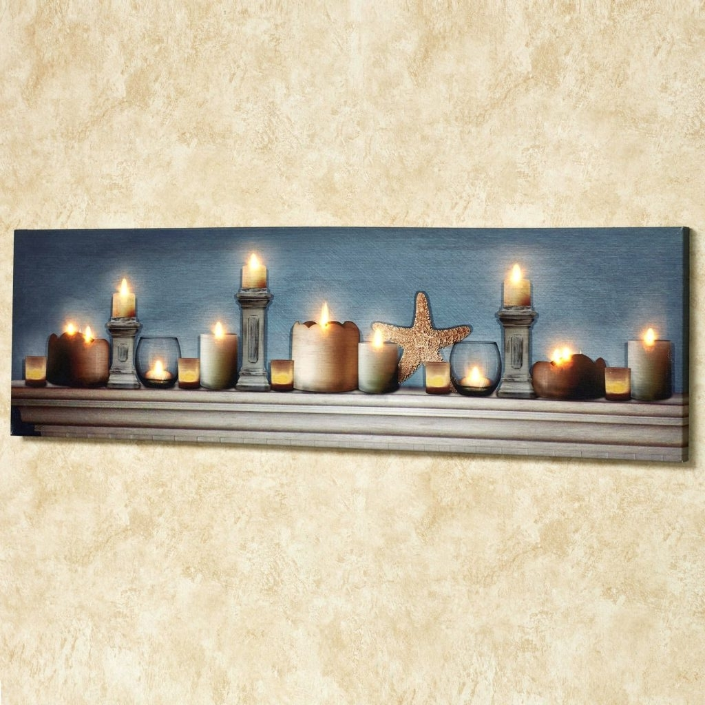 15 The Best Lighted Canvas Wall Art