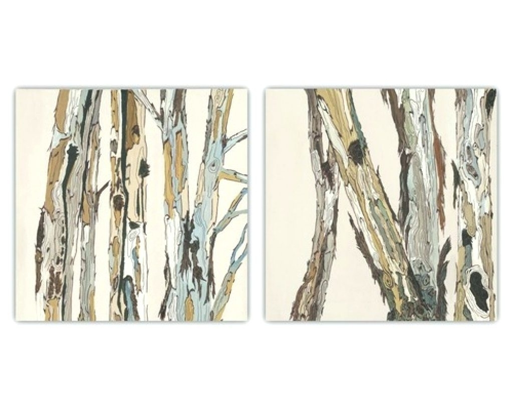 Wall Arts ~ Large Canvas Wall Art Birch Trees Water Trees Canvas With Recent Birch Trees Canvas Wall Art (View 8 of 15)