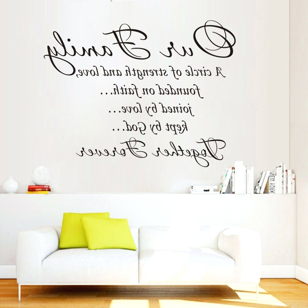 Wall Arts ~ Wall Art Quotes For Bedrooms Dance Quotes Canvas Wall Pertaining To Preferred Canvas Wall Art Family Quotes (View 15 of 15)