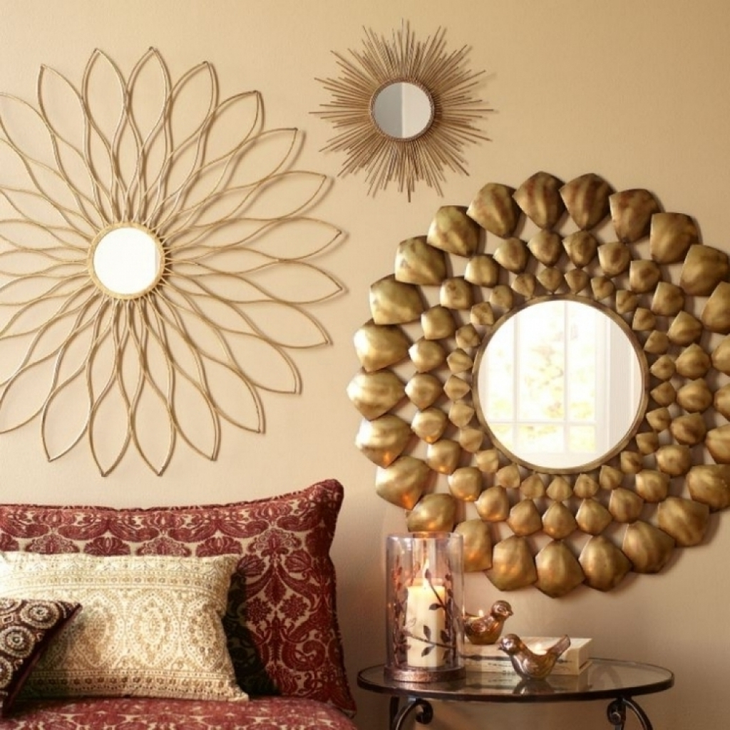 Wall Decor Mirror Home Accents Wall Decor Wall Art And Stylish Pertaining  To Widely Used Mirrors