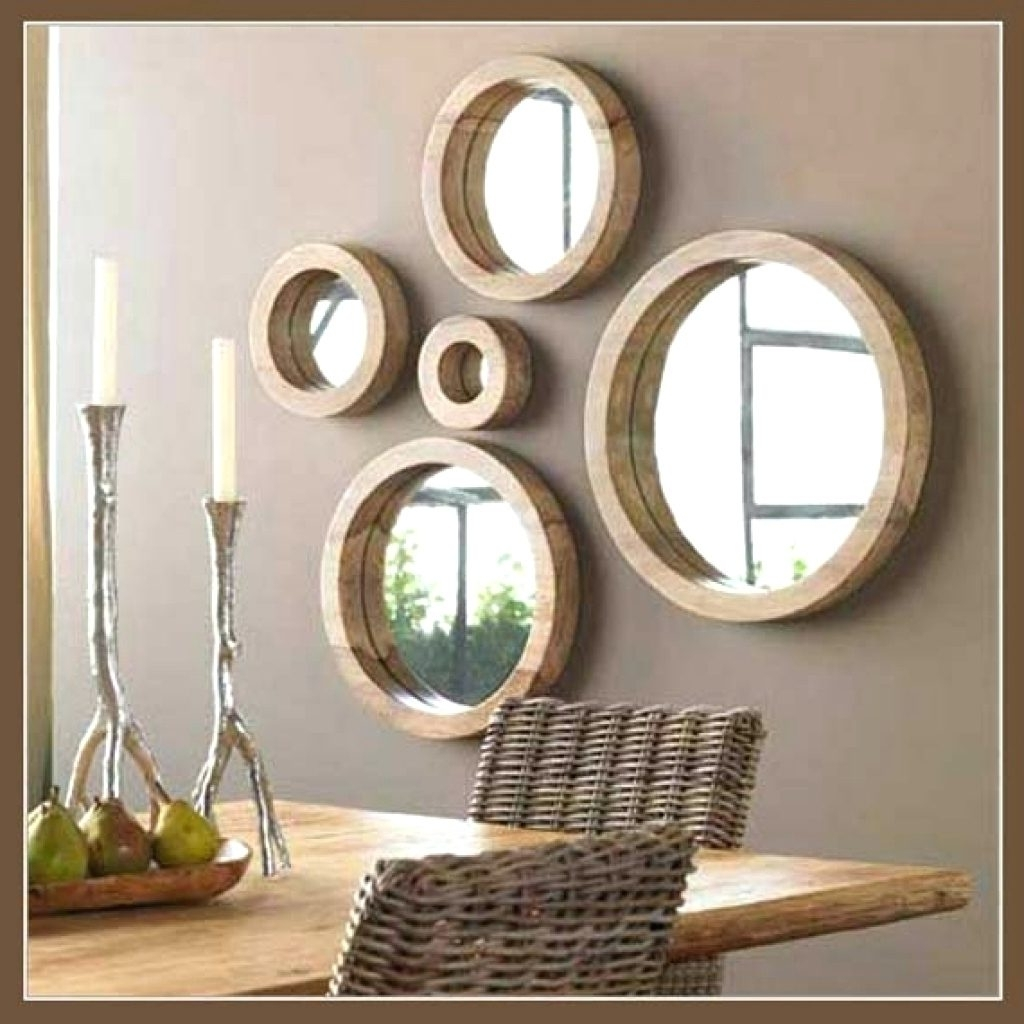 Wall Mirrors ~ Black Accent Wall Mirrors Small Accent Wall Mirrors Pertaining To Most Up To Date Mirror Sets Wall Accents (View 12 of 15)