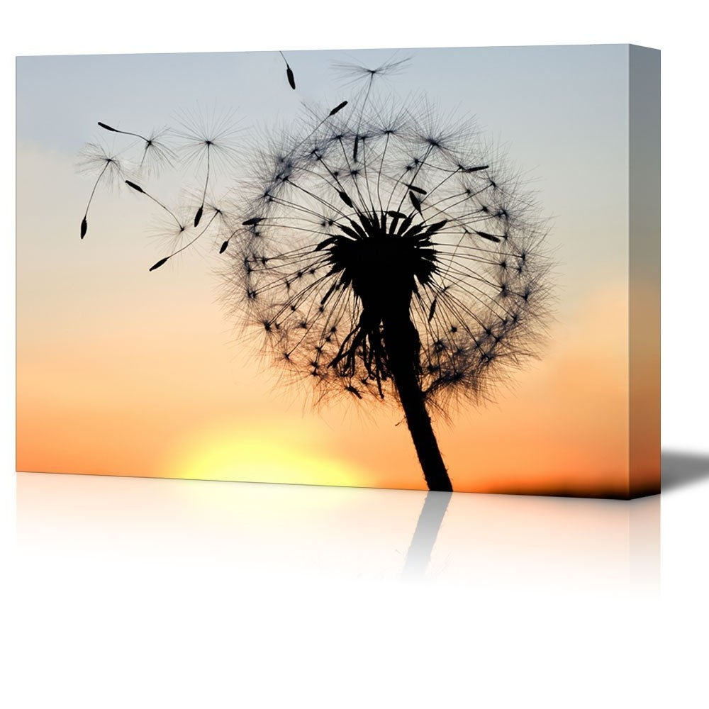 Wall26 – Art Prints – Framed Art – Canvas Prints – Greeting For Trendy Dandelion Canvas Wall Art (View 13 of 15)