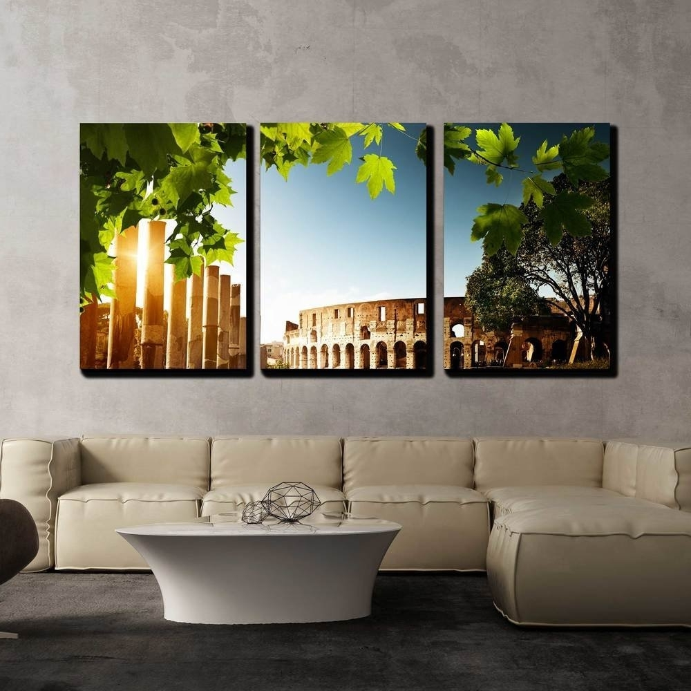 Wall26 – Art Prints – Framed Art – Canvas Prints – Greeting For Well Known Canvas Wall Art Of Rome (View 13 of 15)