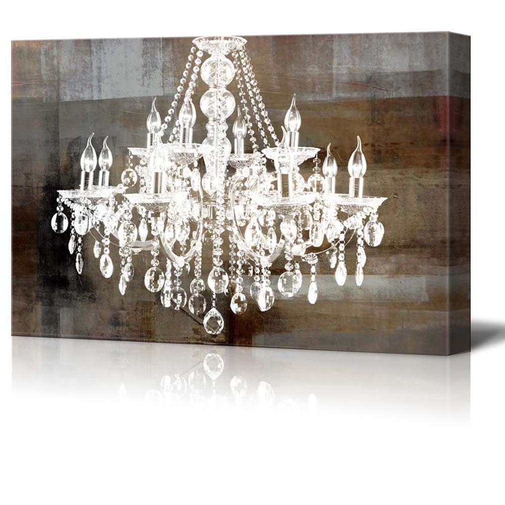 Wall26 – Art Prints – Framed Art – Canvas Prints – Greeting In Favorite Chandelier Canvas Wall Art (View 13 of 15)