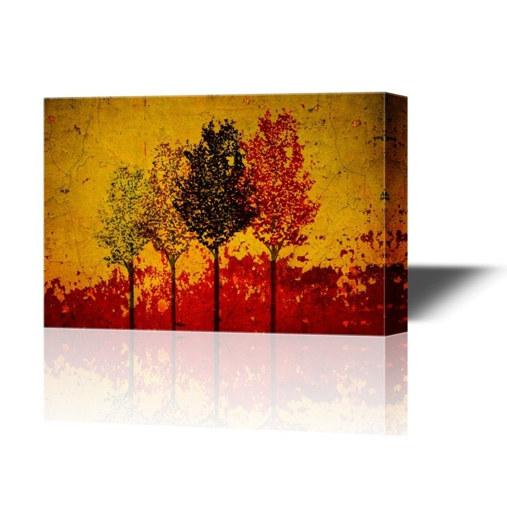 Wall26 – Art Prints – Framed Art – Canvas Prints – Greeting Regarding Widely Used Red Canvas Wall Art (View 13 of 15)