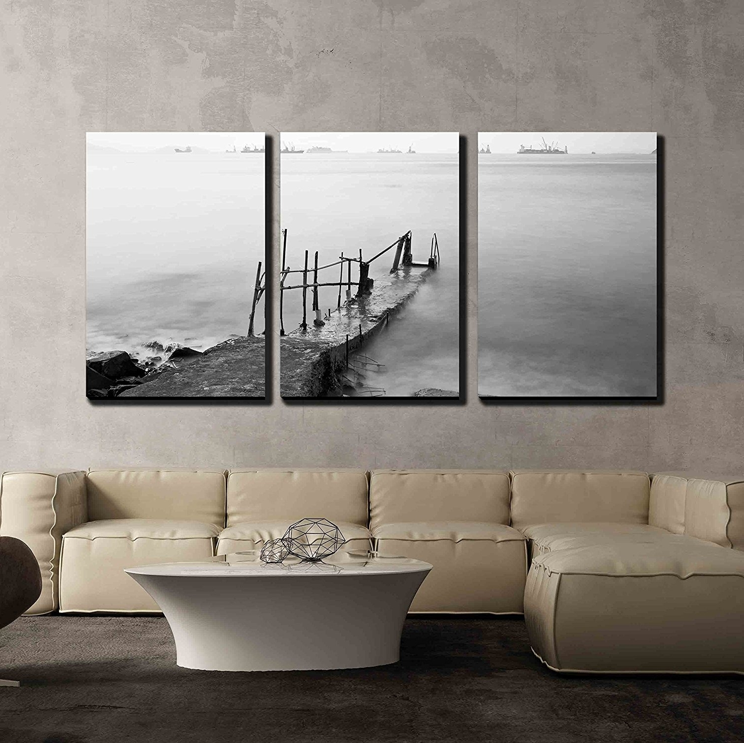 Wall26 – Art Prints – Framed Art – Canvas Prints – Greeting With Current Jetty Canvas Wall Art (View 9 of 15)