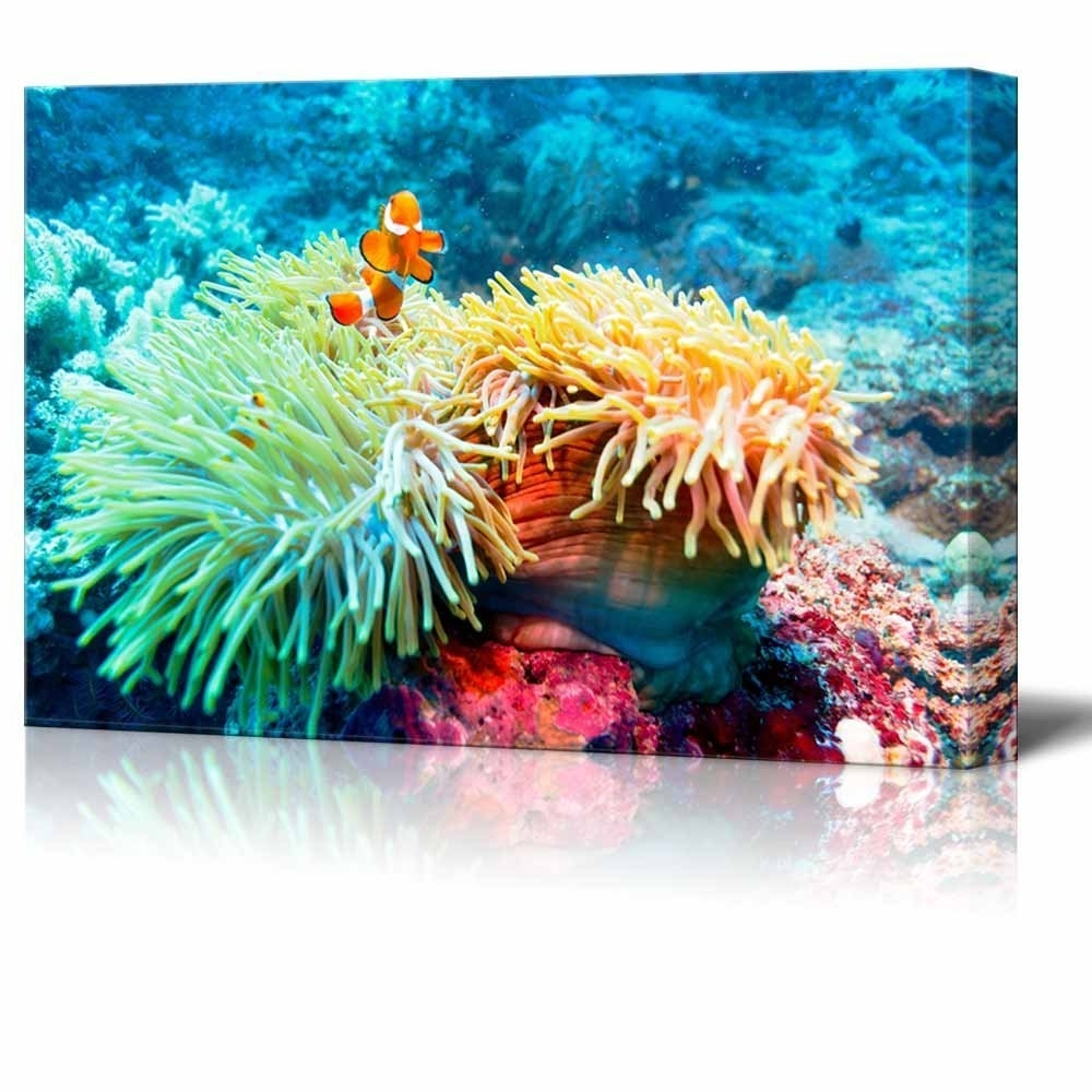 Wall26 – Art Prints – Framed Art – Canvas Prints – Greeting Within Fashionable Framed Coral Art Prints (View 13 of 15)
