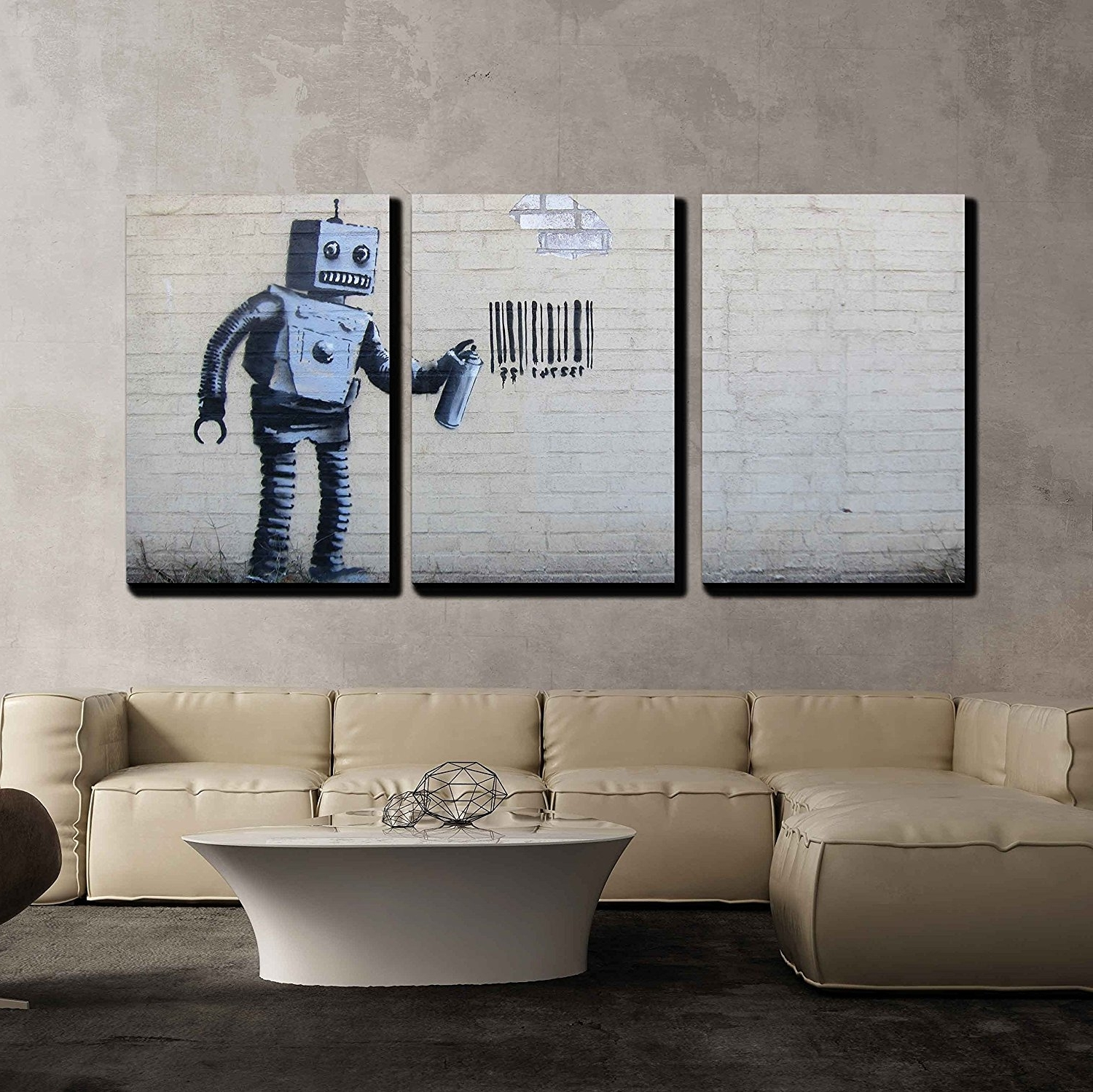 Wall26 – Art Prints – Framed Art – Canvas Prints – Greeting Within Preferred Robot Canvas Wall Art (View 13 of 15)