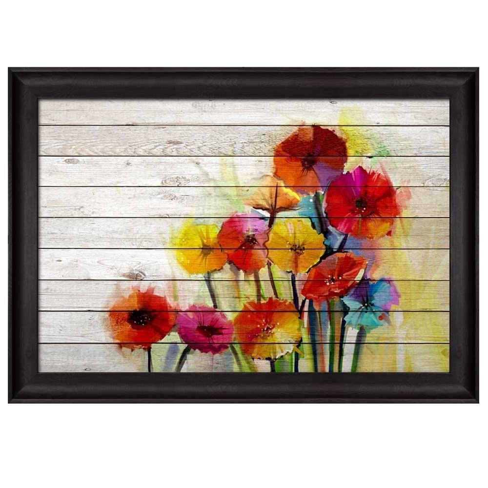 Photo Gallery of Flowers Framed Art Prints (Showing 4 of 15 Photos)