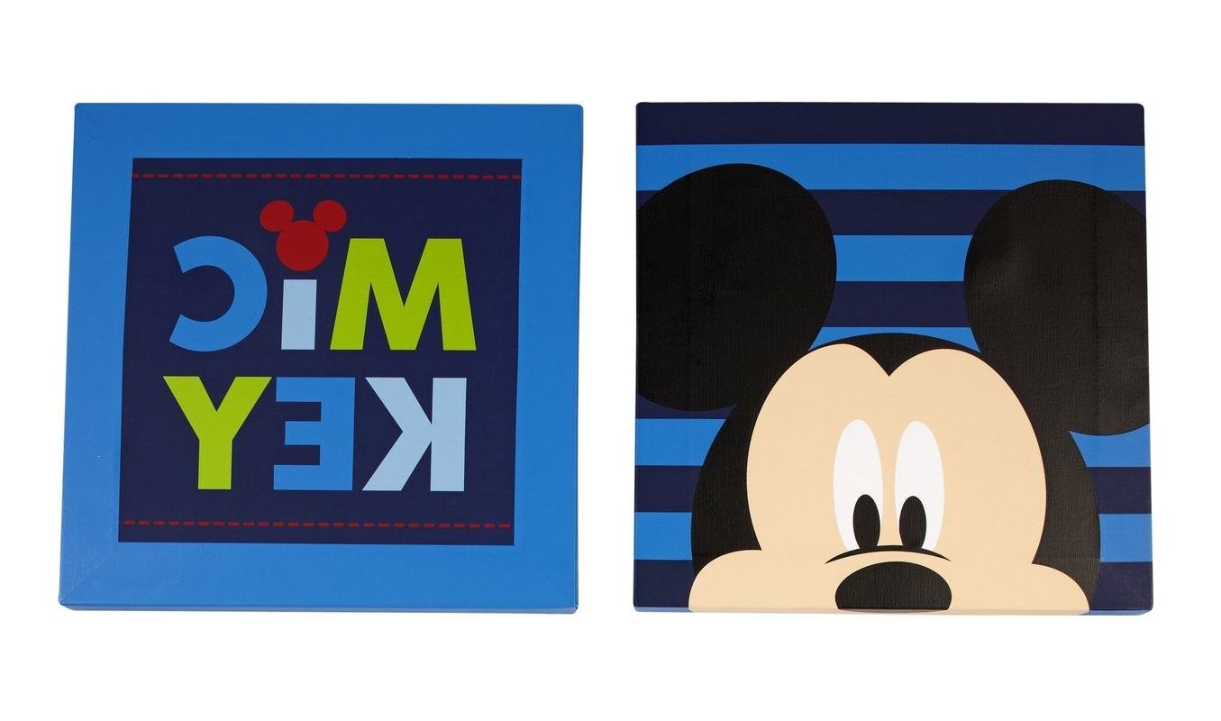 Wayfair Pertaining To Mickey Mouse Canvas Wall Art (View 15 of 15)