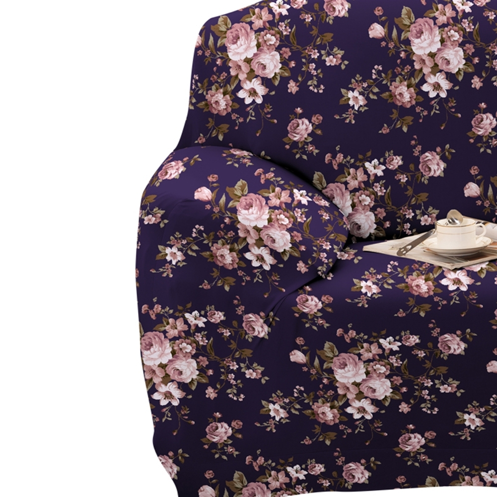 Well Known 2017 Cloth Flower Sofa Cover Set Printed Slipcover Stretchable Pertaining To Stretchable Fabric Wall Art (View 14 of 15)