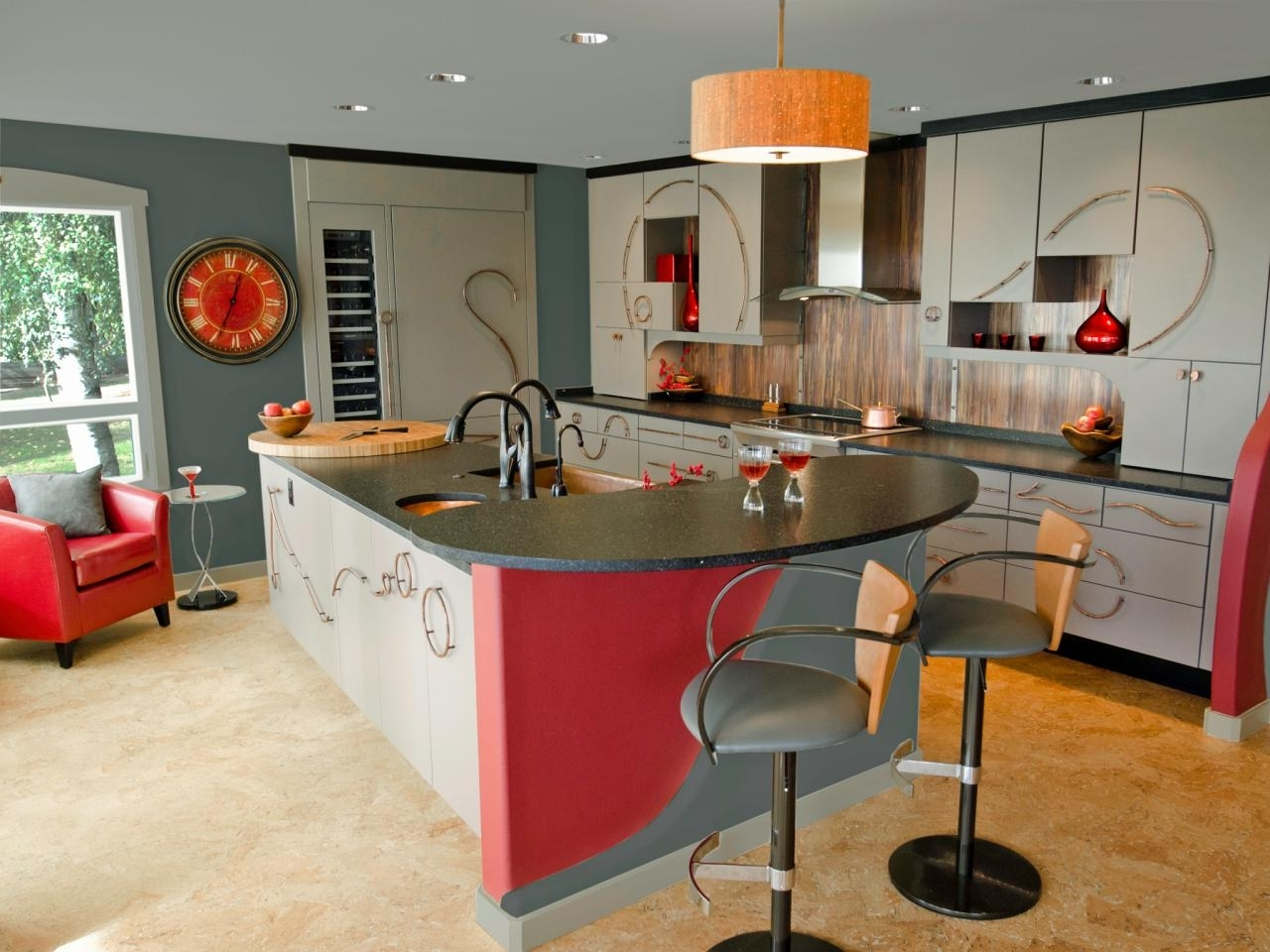 Well Known Best Colors To Paint A Kitchen: Pictures & Ideas From Hgtv (View 14 of 15)