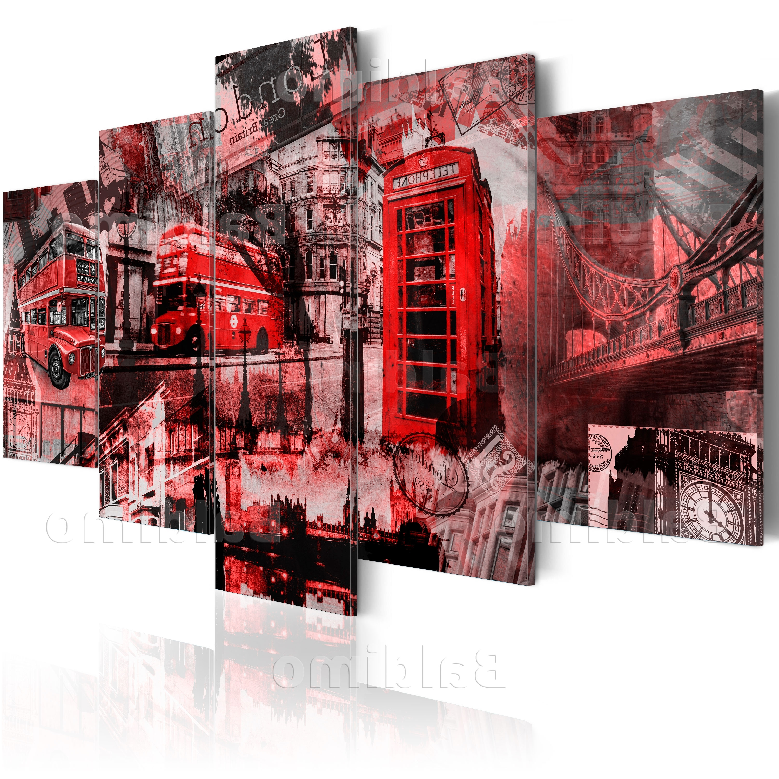 Well Known Canvas Wall Art Of London Regarding Large Canvas Wall Art Print + Image + Picture + Photo London (View 2 of 15)