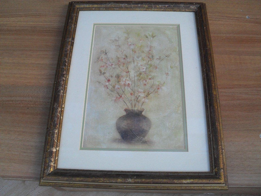 "Well Known Cheri Blum Framed Art Prints Within 4 Framed Prints Entitled ""fruit & Flower Blossomscheri Blum (View 15 of 15)"