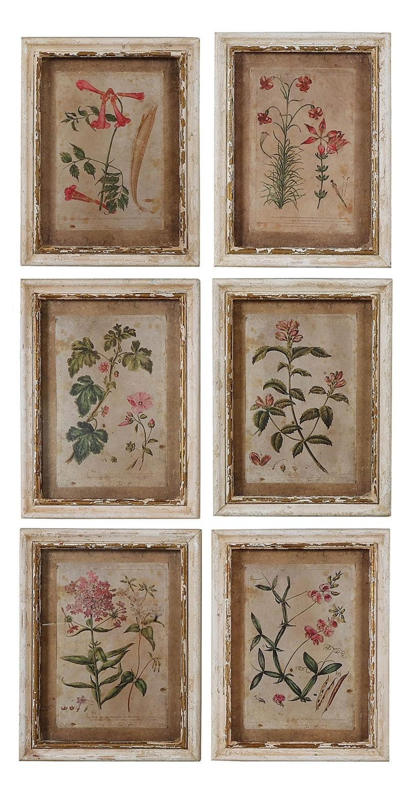 Well Known Colonial Williamsburg Botanical Print Collection Price: $ (View 15 of 15)
