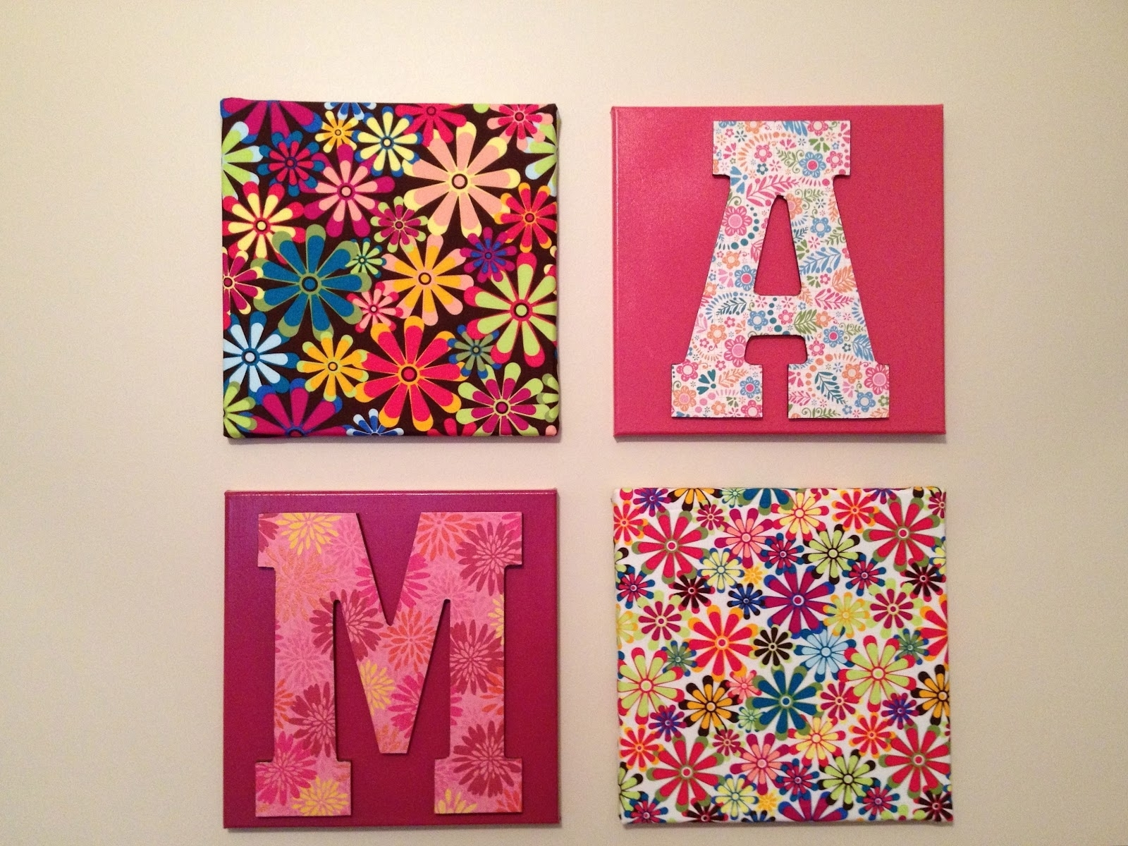 Well Known Creative Fabric Wall Art With Decorations (View 15 of 15)