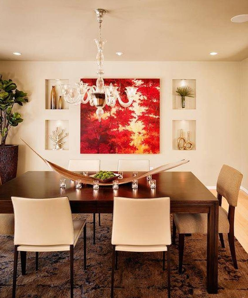 Best 15+ Of Wall Accents For Dining Room