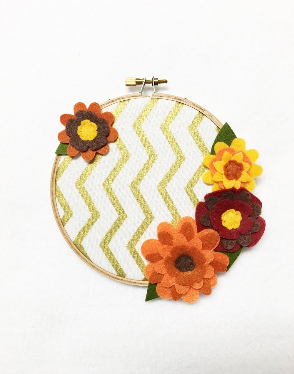 2018 Latest Embroidery Hoop Fabric Wall Art