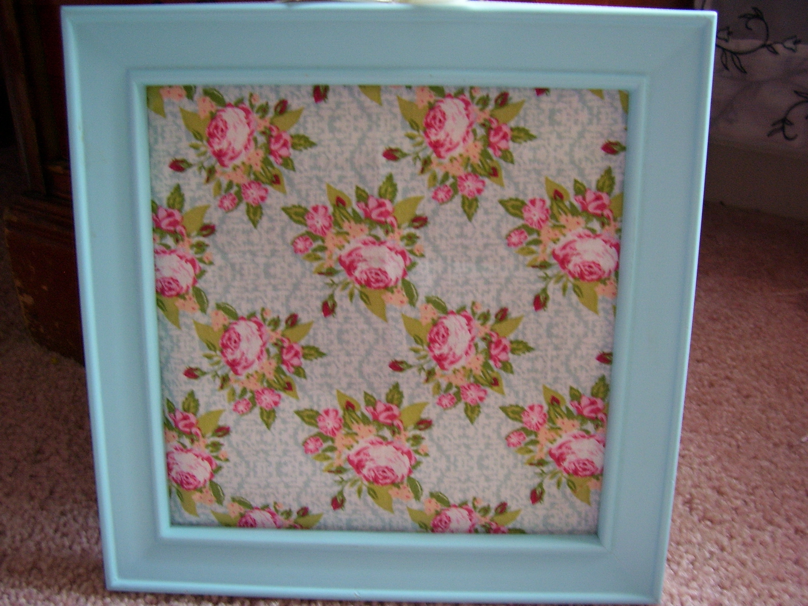 Well Known Floral Fabric Wall Art Intended For Spring & Easter Framed Fabric Wall Art – Quiver Full Of Blessings (View 2 of 15)